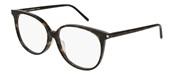 """Seleccione el menú """"COMPRAR"""" si desea comprar unas gafas de Saint Laurent Paris o seleccione la herramienta """"ZOOM"""" si desea ampliar la foto Sl39F-003."""