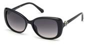 """Seleccione el menú """"COMPRAR"""" si desea comprar unas gafas de Swarovski Eyewear o seleccione la herramienta """"ZOOM"""" si desea ampliar la foto SK0219-01B."""