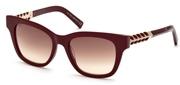 """Seleccione el menú """"COMPRAR"""" si desea comprar unas gafas de Tods Eyewear o seleccione la herramienta """"ZOOM"""" si desea ampliar la foto TO0200-69F."""