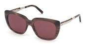 """Seleccione el menú """"COMPRAR"""" si desea comprar unas gafas de Tods Eyewear o seleccione la herramienta """"ZOOM"""" si desea ampliar la foto TO0257-55S."""