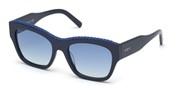 """Seleccione el menú """"COMPRAR"""" si desea comprar unas gafas de Tods Eyewear o seleccione la herramienta """"ZOOM"""" si desea ampliar la foto TO0259-90W."""