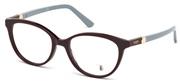 """Seleccione el menú """"COMPRAR"""" si desea comprar unas gafas de Tods Eyewear o seleccione la herramienta """"ZOOM"""" si desea ampliar la foto TO5144-081."""