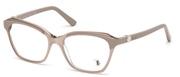 """Seleccione el menú """"COMPRAR"""" si desea comprar unas gafas de Tods Eyewear o seleccione la herramienta """"ZOOM"""" si desea ampliar la foto TO5163-074."""