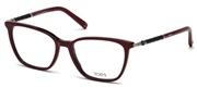 """Seleccione el menú """"COMPRAR"""" si desea comprar unas gafas de Tods Eyewear o seleccione la herramienta """"ZOOM"""" si desea ampliar la foto TO5171-071."""