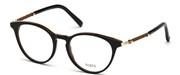 """Seleccione el menú """"COMPRAR"""" si desea comprar unas gafas de Tods Eyewear o seleccione la herramienta """"ZOOM"""" si desea ampliar la foto TO5184-005."""