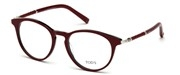 """Seleccione el menú """"COMPRAR"""" si desea comprar unas gafas de Tods Eyewear o seleccione la herramienta """"ZOOM"""" si desea ampliar la foto TO5184-071."""