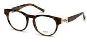 """Seleccione el menú """"COMPRAR"""" si desea comprar unas gafas de Tods Eyewear o seleccione la herramienta """"ZOOM"""" si desea ampliar la foto TO5190-056."""