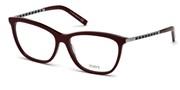 """Seleccione el menú """"COMPRAR"""" si desea comprar unas gafas de Tods Eyewear o seleccione la herramienta """"ZOOM"""" si desea ampliar la foto TO5198-056."""