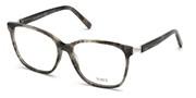"""Seleccione el menú """"COMPRAR"""" si desea comprar unas gafas de Tods Eyewear o seleccione la herramienta """"ZOOM"""" si desea ampliar la foto TO5227-056."""