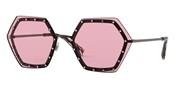 """Seleccione el menú """"COMPRAR"""" si desea comprar unas gafas de Valentino o seleccione la herramienta """"ZOOM"""" si desea ampliar la foto 0VA2035-303984."""