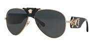 """Seleccione el menú """"COMPRAR"""" si desea comprar unas gafas de Versace o seleccione la herramienta """"ZOOM"""" si desea ampliar la foto 0VE2150Q-100287."""