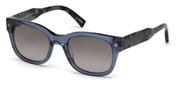 """Seleccione el menú """"COMPRAR"""" si desea comprar unas gafas de Ermenegildo Zegna o seleccione la herramienta """"ZOOM"""" si desea ampliar la foto EZ0087-92B."""