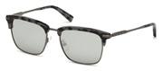 """Seleccione el menú """"COMPRAR"""" si desea comprar unas gafas de Ermenegildo Zegna o seleccione la herramienta """"ZOOM"""" si desea ampliar la foto EZ0092-55C."""