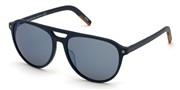 """Seleccione el menú """"COMPRAR"""" si desea comprar unas gafas de Ermenegildo Zegna o seleccione la herramienta """"ZOOM"""" si desea ampliar la foto EZ0133-91X."""