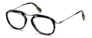 """Seleccione el menú """"COMPRAR"""" si desea comprar unas gafas de Ermenegildo Zegna o seleccione la herramienta """"ZOOM"""" si desea ampliar la foto EZ5124-055."""